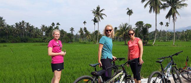 Suranadi Temple Bike Ride from Lombok