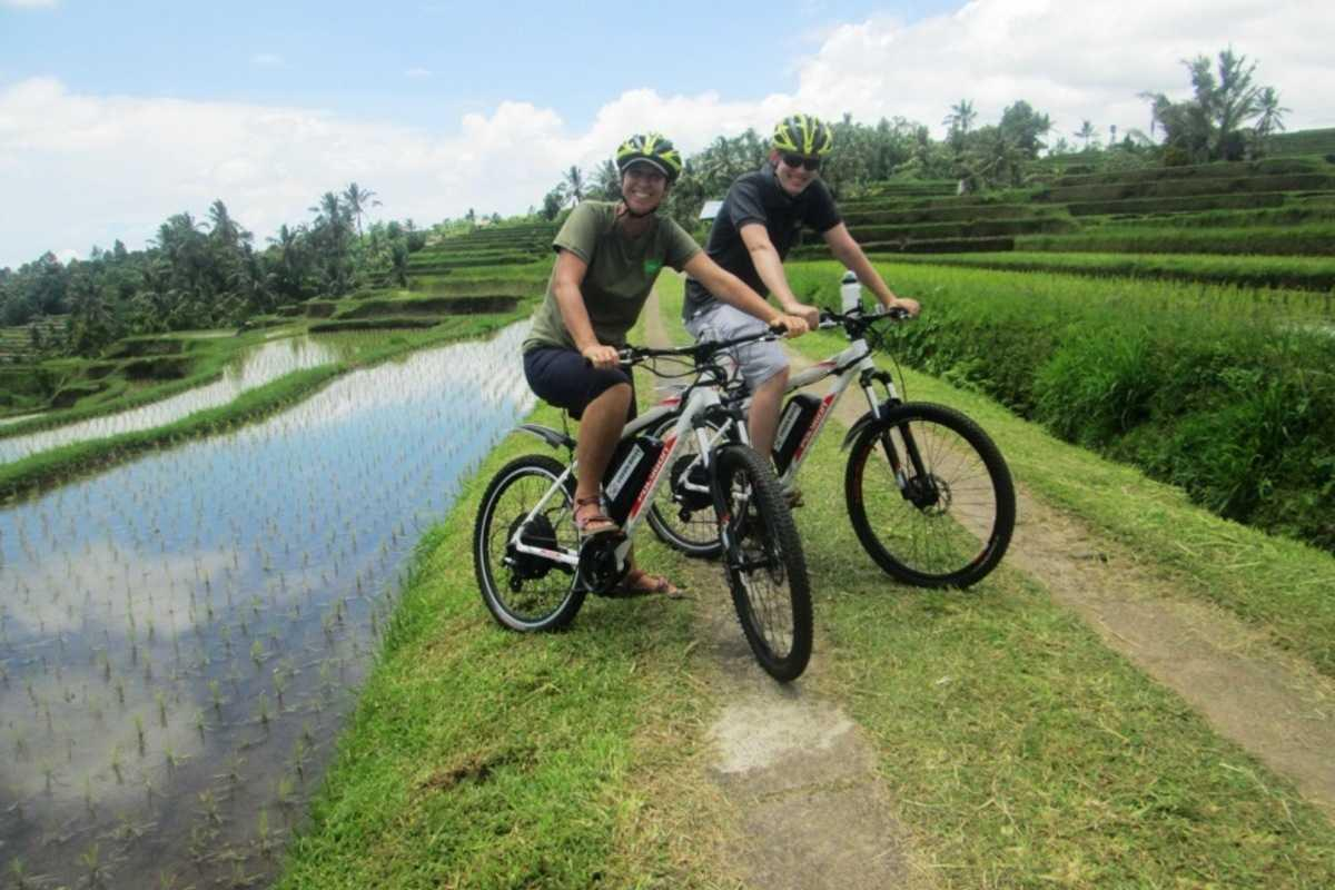 Ubud Nature and Villages Electric  Bike Cycling Tour