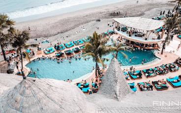 Finns Bali Super Fun 7 Day Pass to Finns Beach Club, Recreation Club and More!