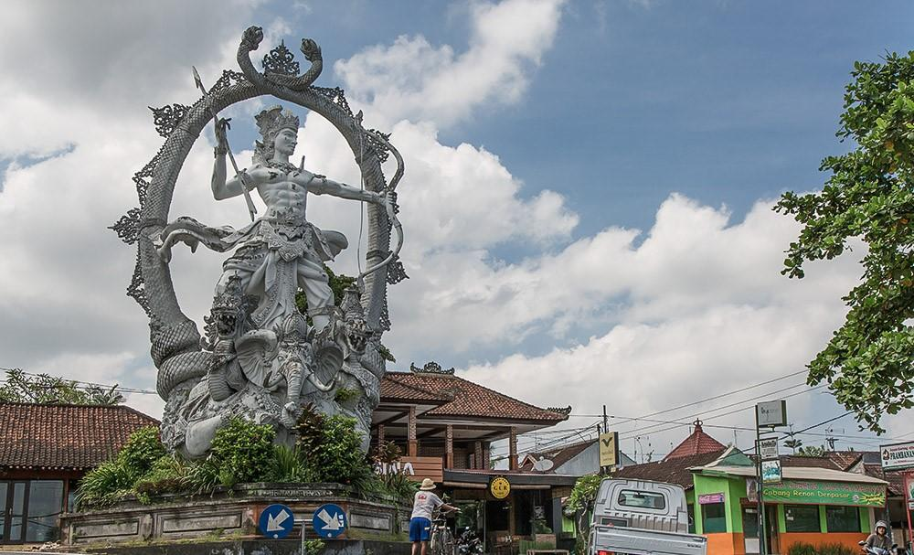 Indra Statue