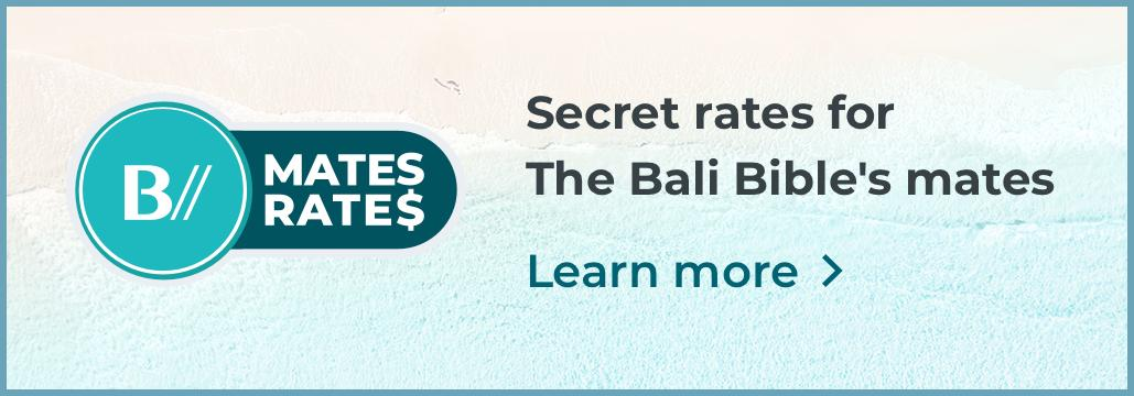 The Bali Bible | The Ultimate Guide To Bali