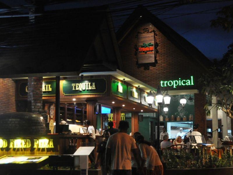 Tropical Restaurant Bali Collection