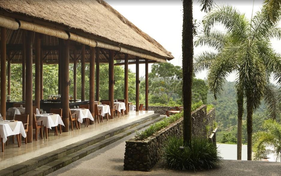 Plantation Restaurant at Alila Ubud