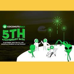 Coconuts Bali 5th Anniversary Party