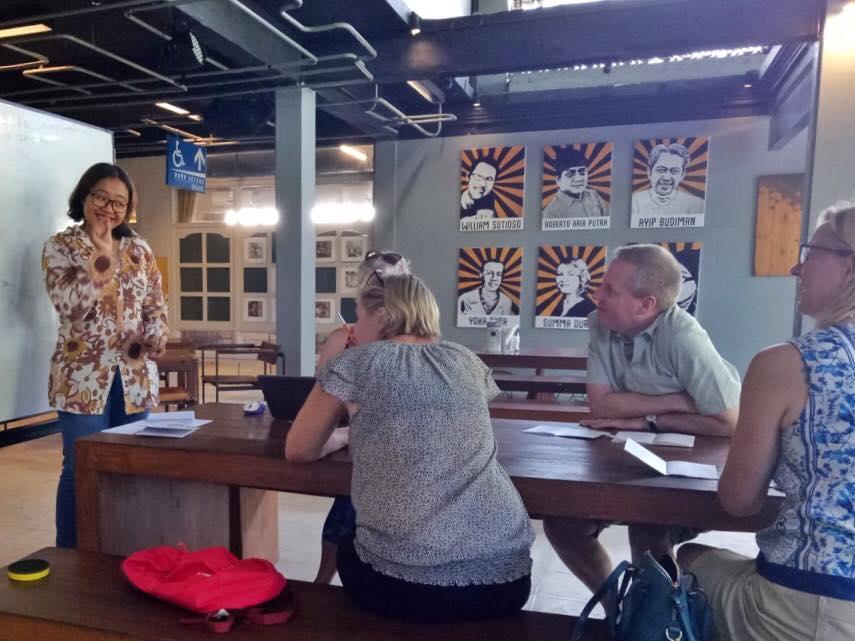 Cinta Bahasa Indonesian Language School, Ubud Bali Indonesia
