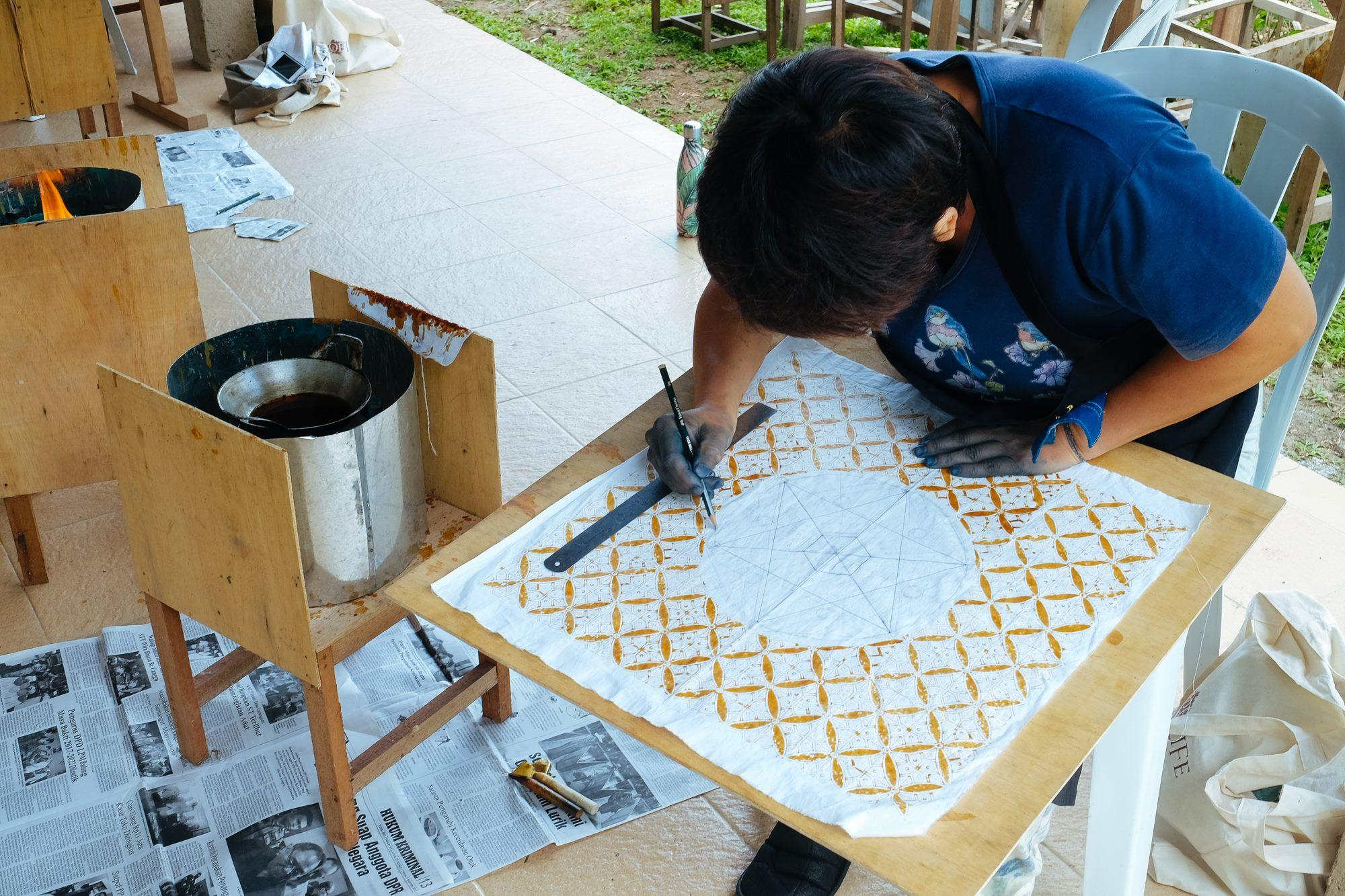 Natural Dye Batik Class by Threads of Life