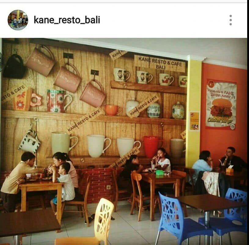 Kane Resto & Cafe Bali Kebo Iwa