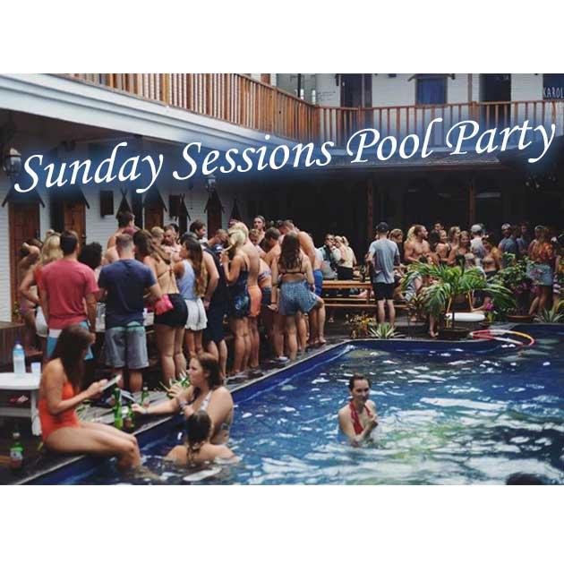 Sunday Sessions Pool Party