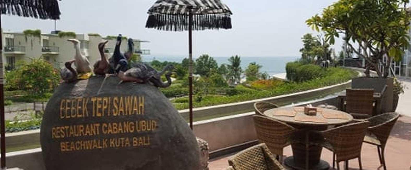 Bebek Tepi Sawah Beachwalk