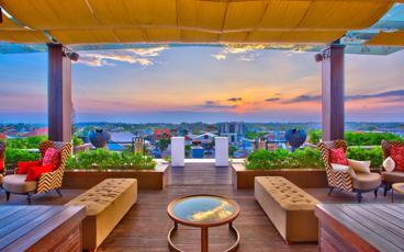 Save up to 36% off Food & Beverages at The 18th Rooftop Bar at The Trans Resort