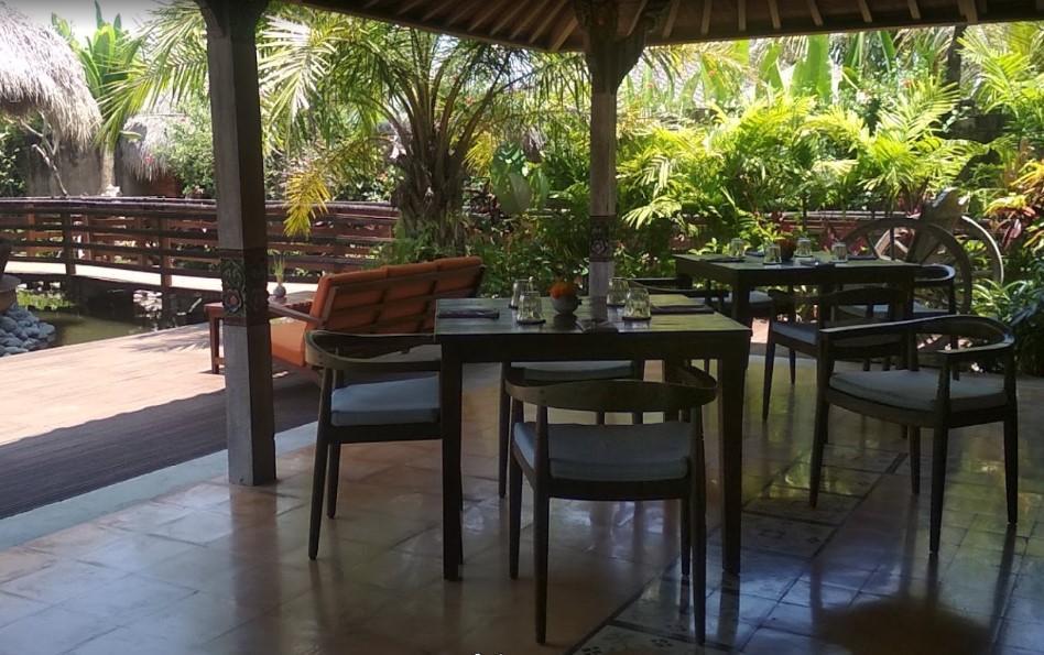 Wayang Restaurant At Adiwana Arya Villas