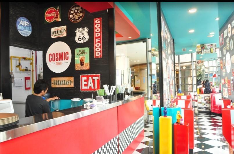 Cosmic Diner Lippo Mall Kuta
