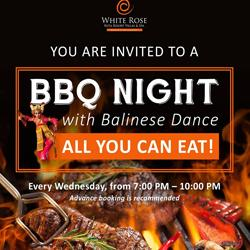 BBQ Night with Balinese Dance