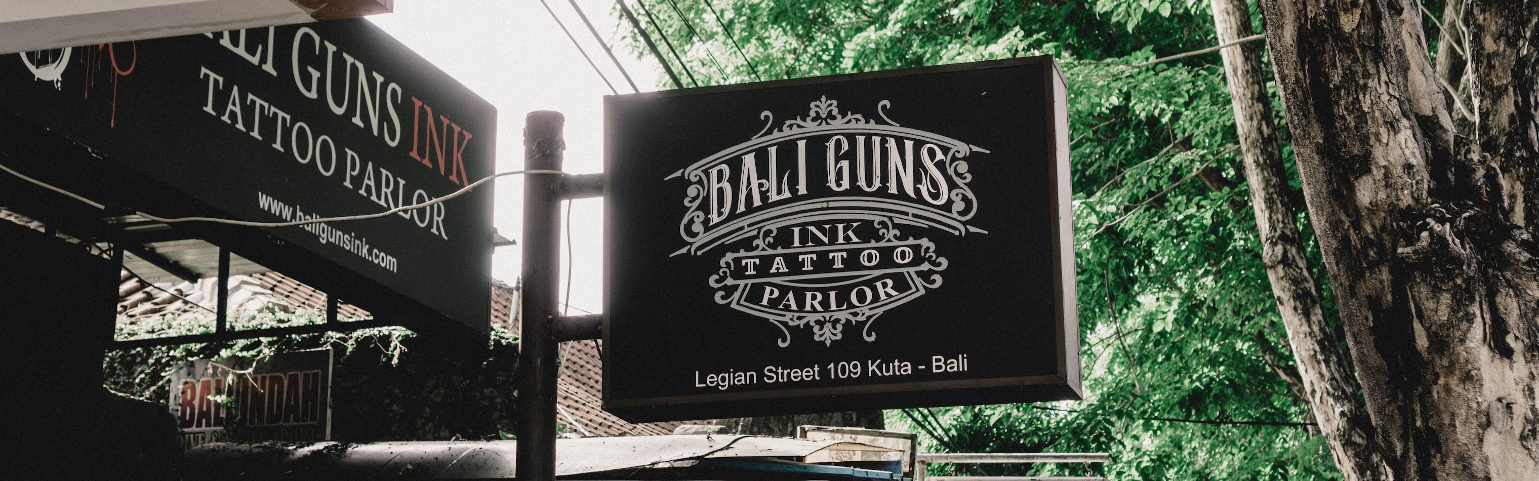 Bali Guns Ink Tattoo Parlor