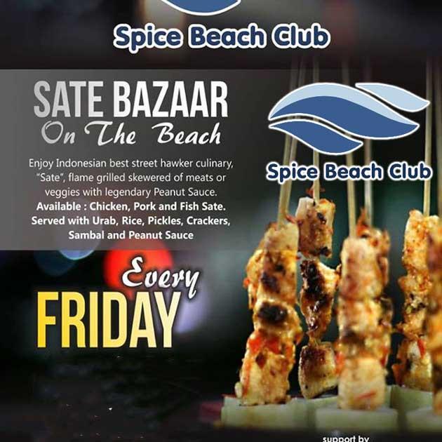 Sate Bazaar On The Beach