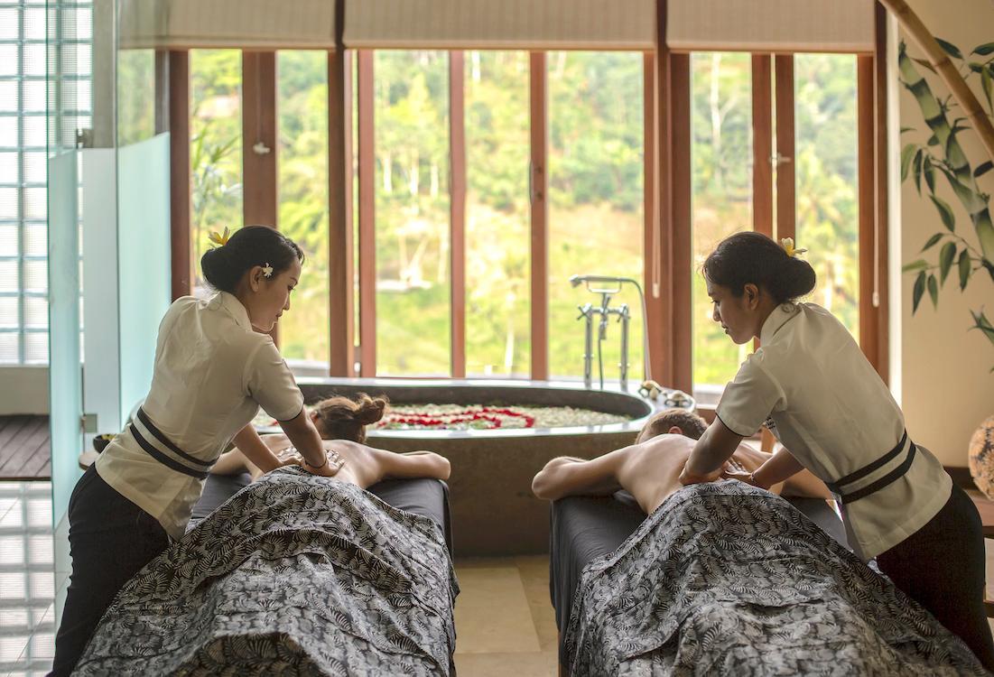 Serayu Spa at The Kayon Jungle Resort by Pramana