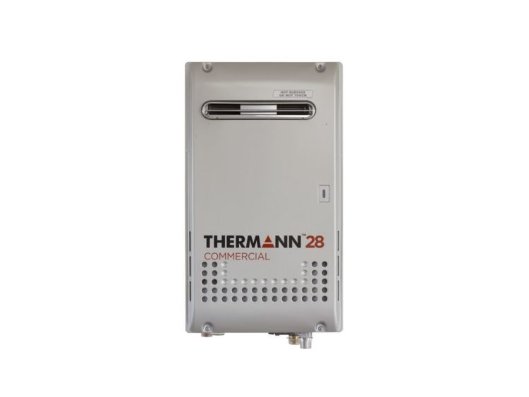 Web 1200x900 Thermann Commercial Continuous Flow Hot Water Unit External 28ltr