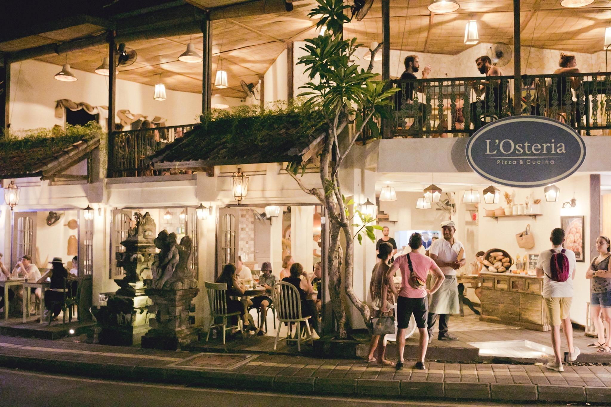 L'Osteria Restaurant, Ubud
