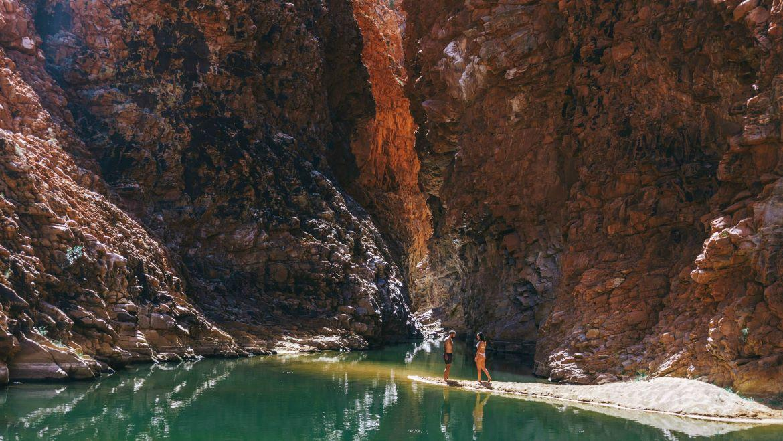 Redbank Gorge - West MacDonnell Ranges
