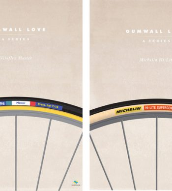Veloposters gumwall series