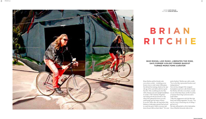 Issue 13 Treadlie Magazine December 2013 Brian Ritchie