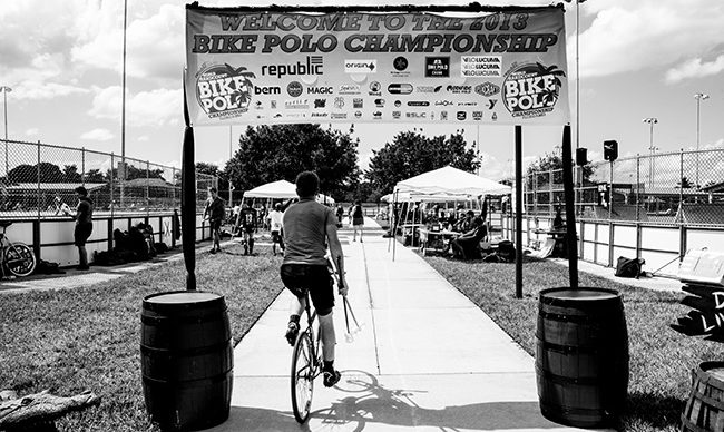 World hard court Bike Polo Chamionships