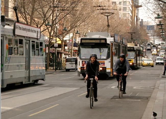 Swanston St Melbourne