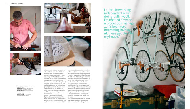 Treadlie Magazine Issue 7 June 2012 - Busyman Bicycles