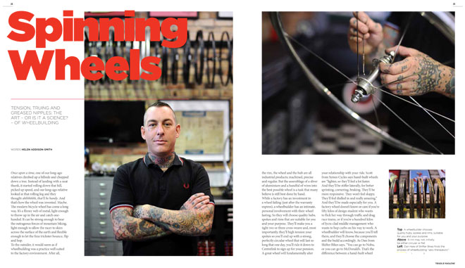 Treadlie Magazine Issue 6 September 2012 - Spinning Wheels