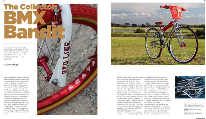 Treadlie Magazine Issue 6 September 2012 - BMX Bandit