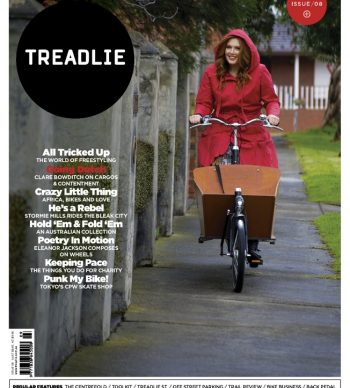 Issue 8 Treadlie Magazine - Clare Bowditch
