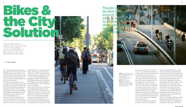 Bikes & The City Solution Treadlie Magazine Issue 9 December 2013
