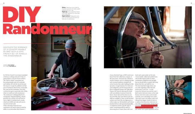 Centrefold in Treadlie Magazine Issue 9 December 2013