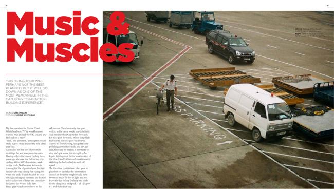 Travel in Treadlie Magazine Issue 9 December 2013