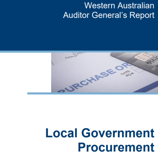 WA Auditor General's report
