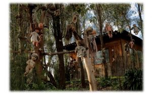 The Island of haunted Dolls