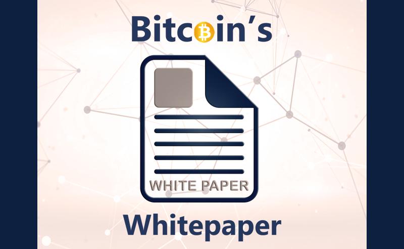 Bitcoins whitepaper