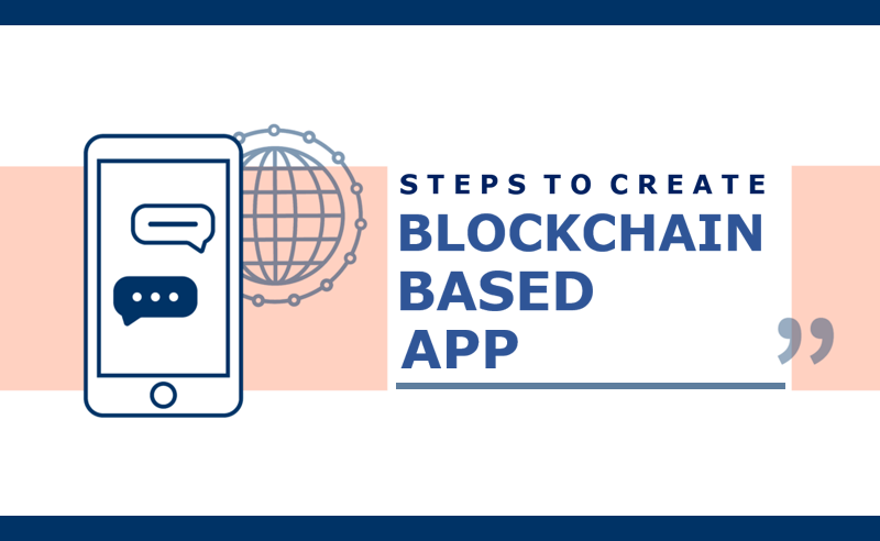 Steps to create blockchain based apps