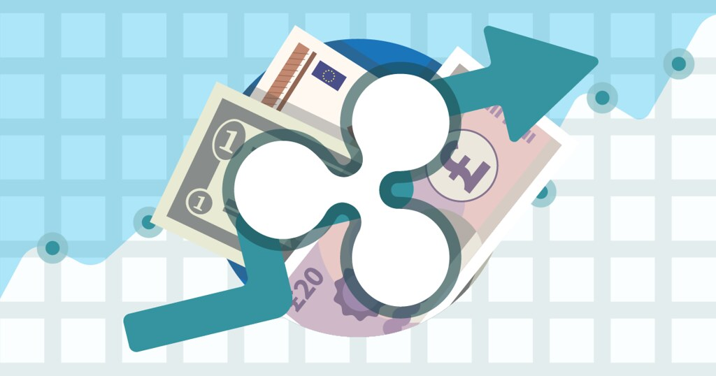 Ripple (XRP) coin illustration