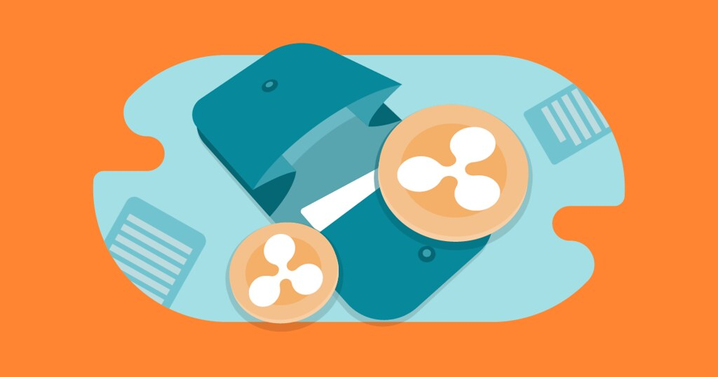 Ripple (XRP) wallet illustration