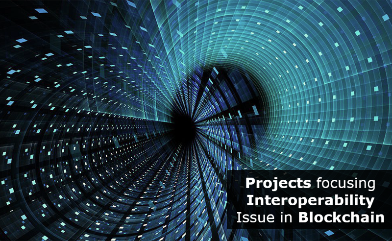 Projects focusing interoperability issue in blockchain