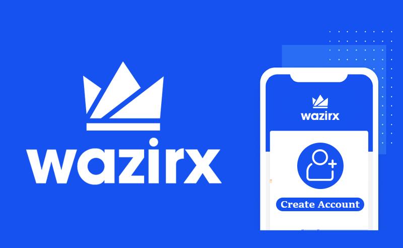 How to create account on wazirx