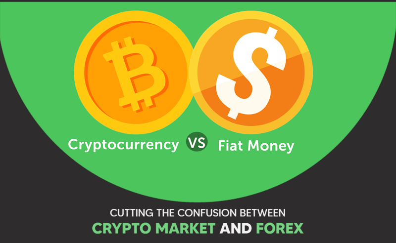 Cutting the confusion between crypto market and forex