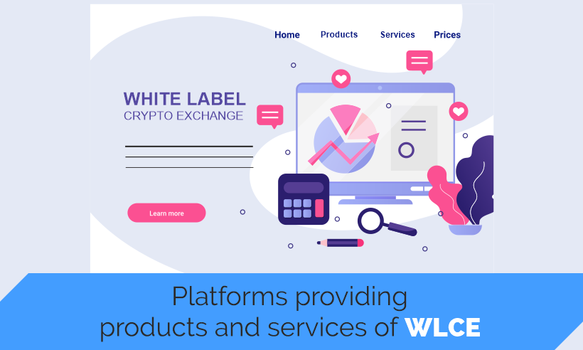 Platforms providing products and services of WLCE