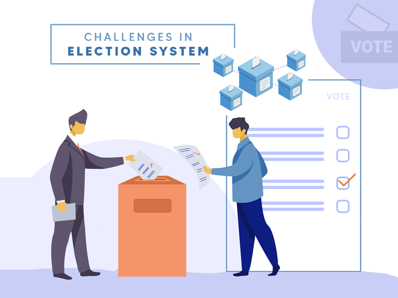 Challenges faced by election system