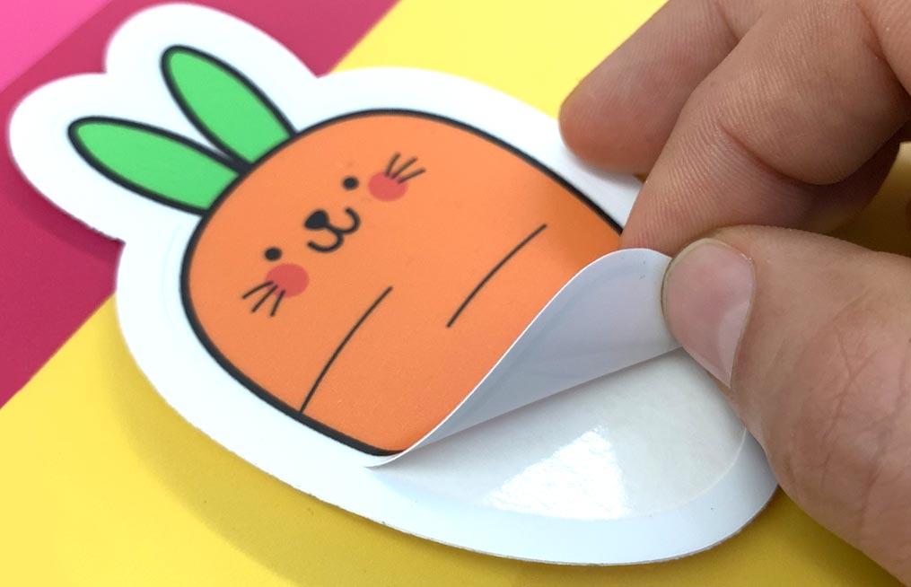 custom printed stickers