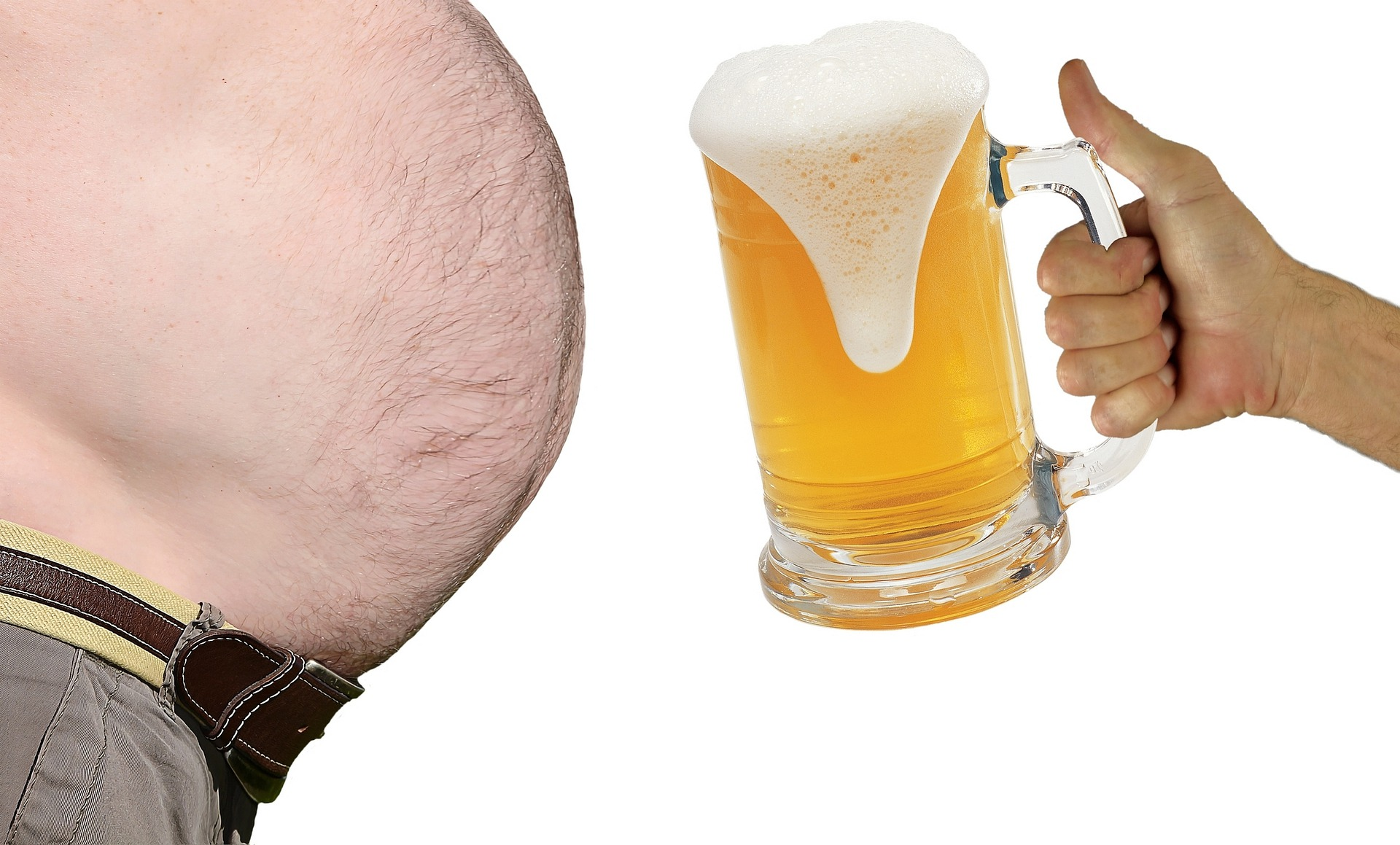 how to get rid of a Beer Gut