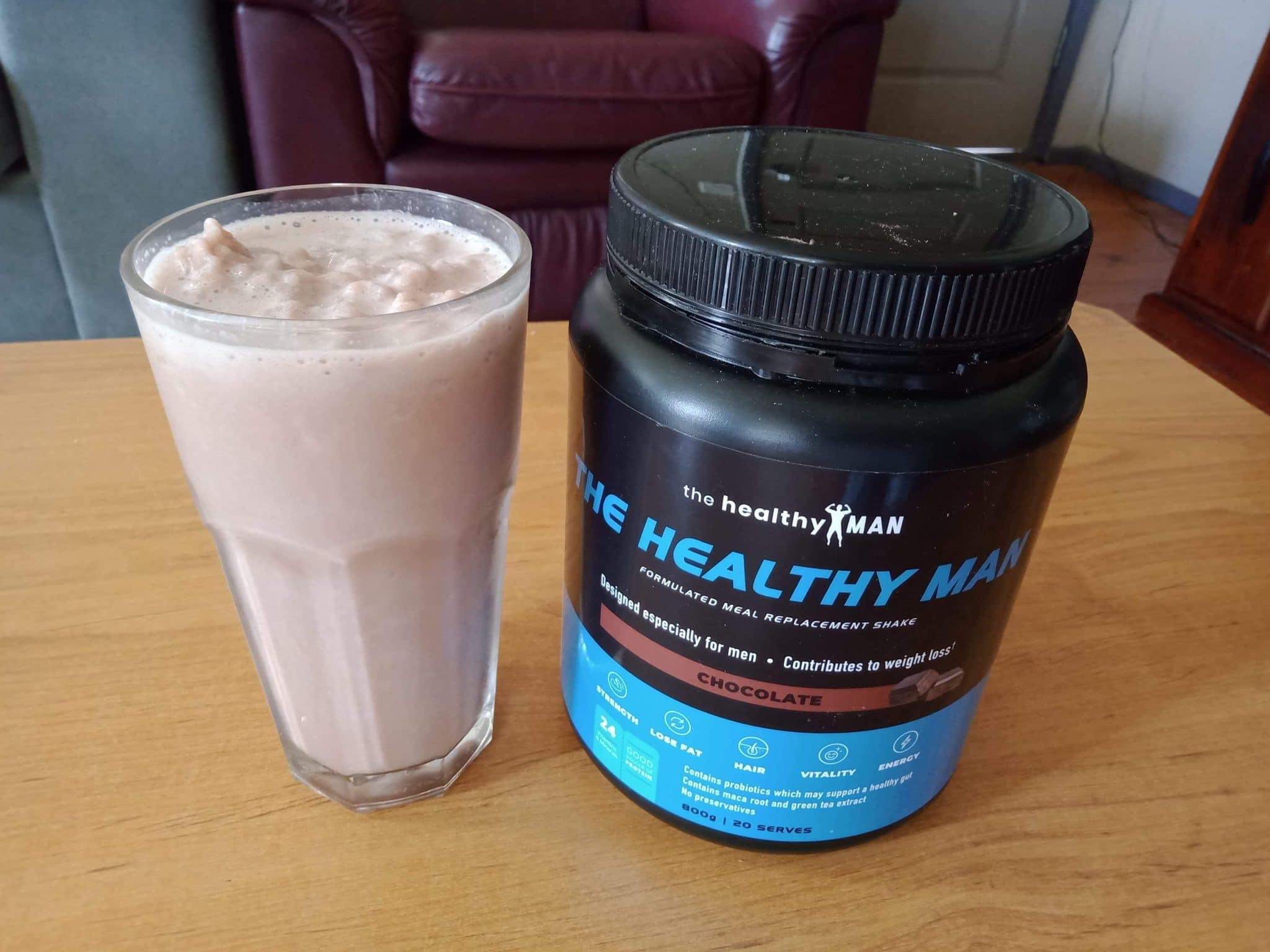 Meal-Replacement-Shakes-for-Weight Loss-healthy-man