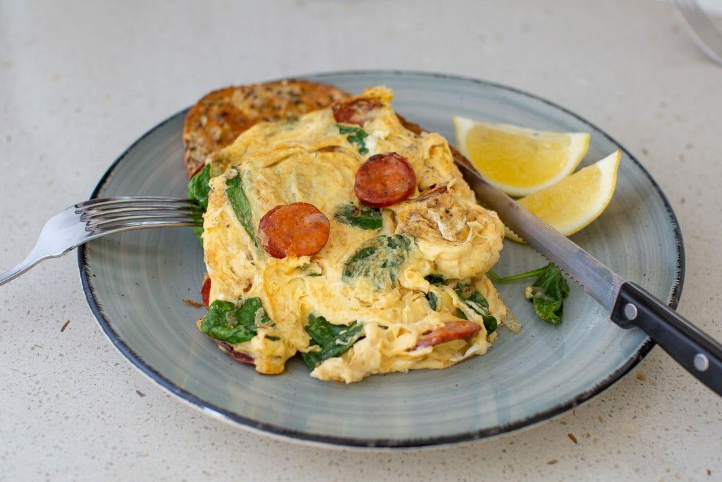 Chorizo and Egg Scramble Recipe