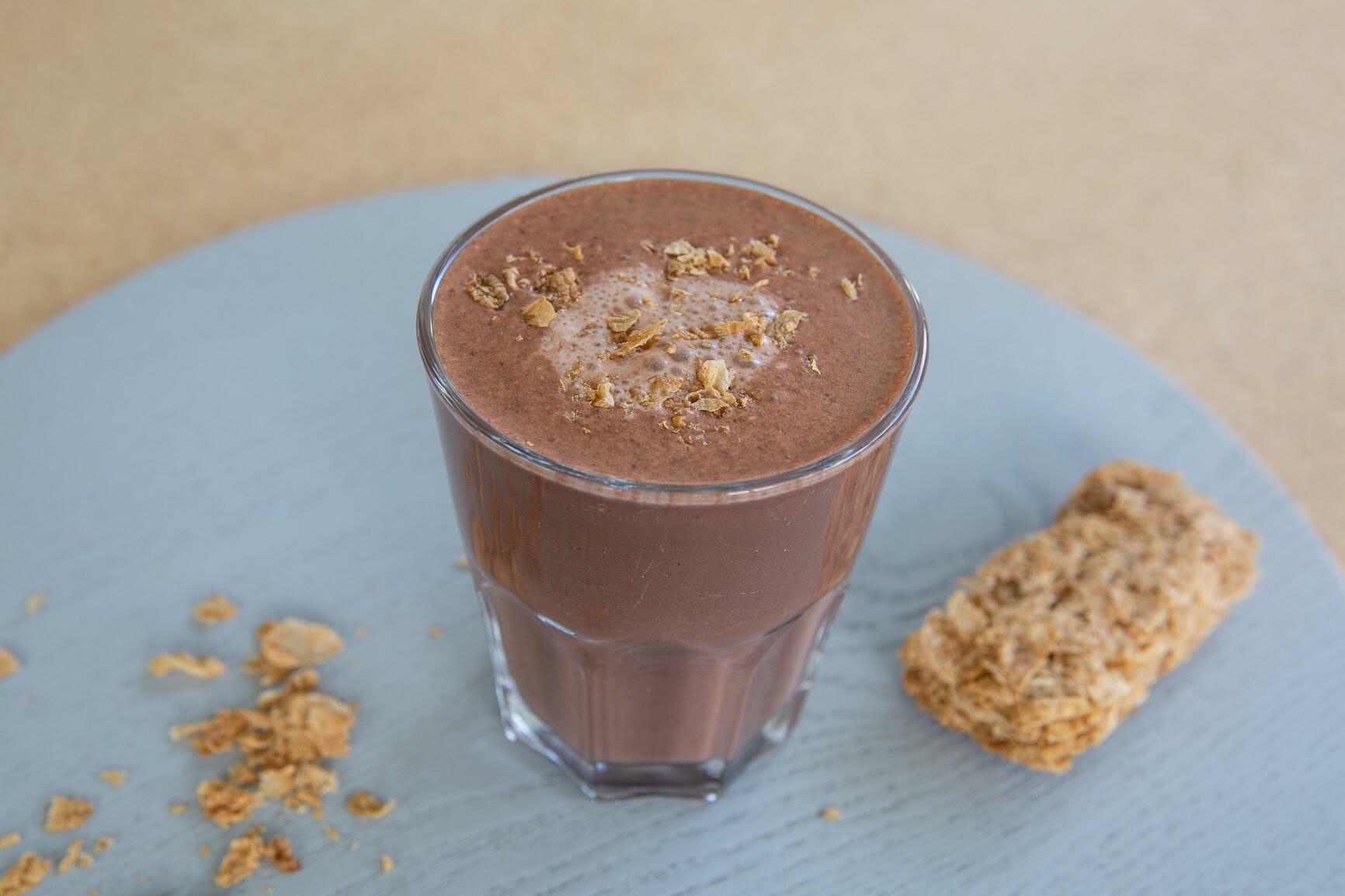 chocolate doughnut smoothie recipe